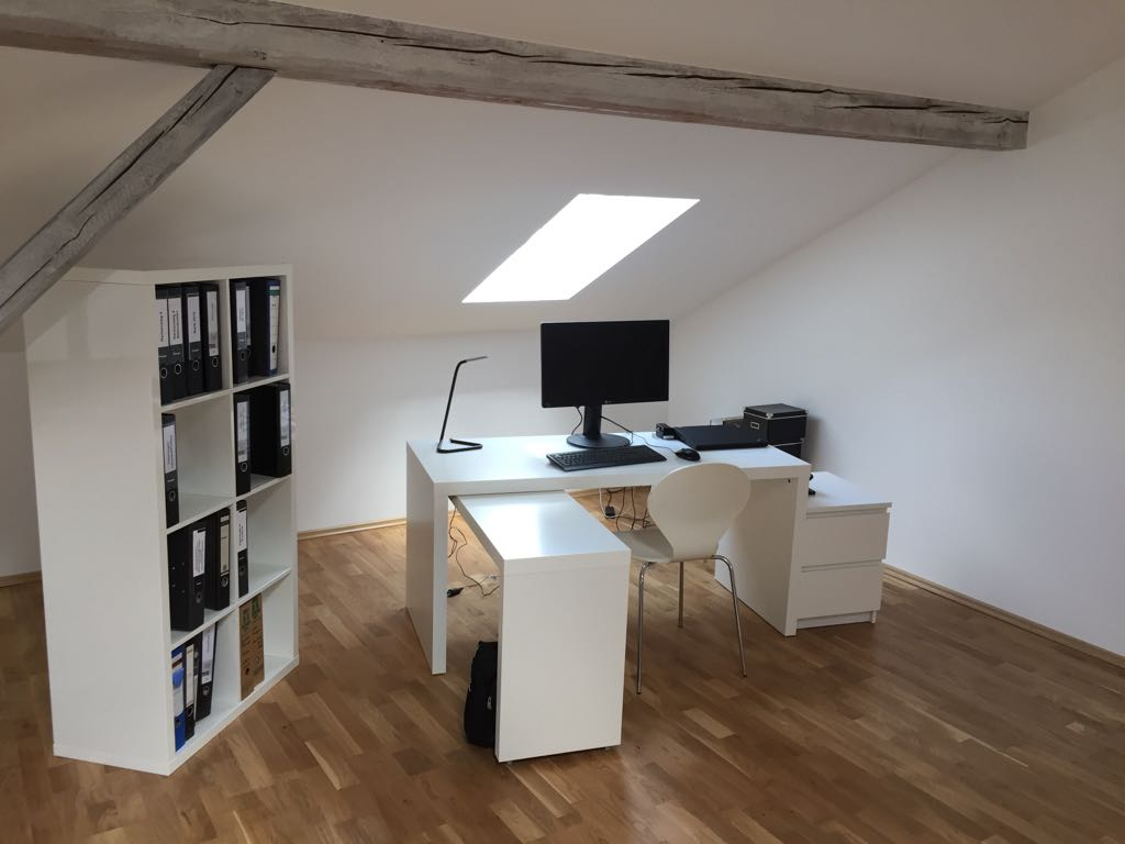 Home-Office: Dachgeschossausbau in Dortmund-Wellinghofen