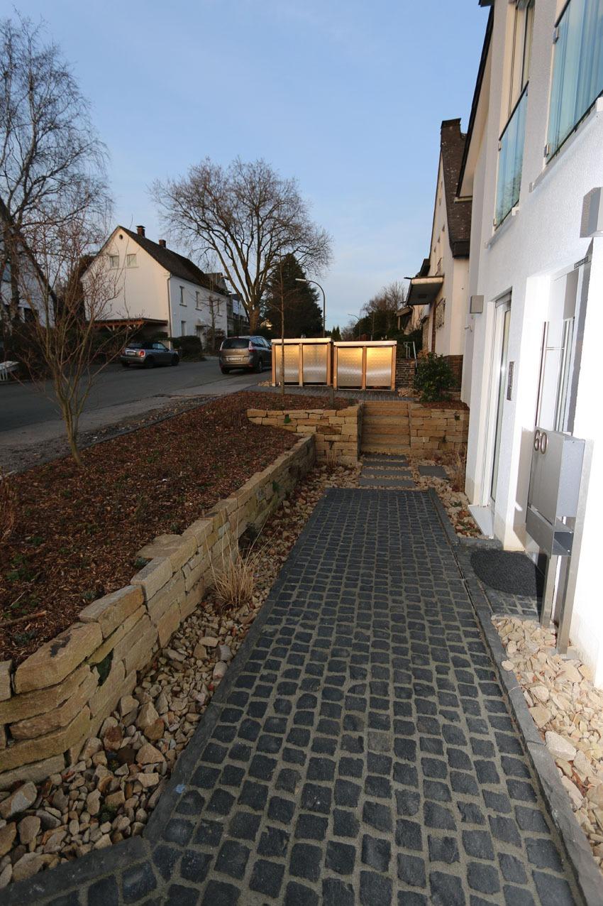 Eingangsbereich Neubau in Dortmund-Lücklemberg