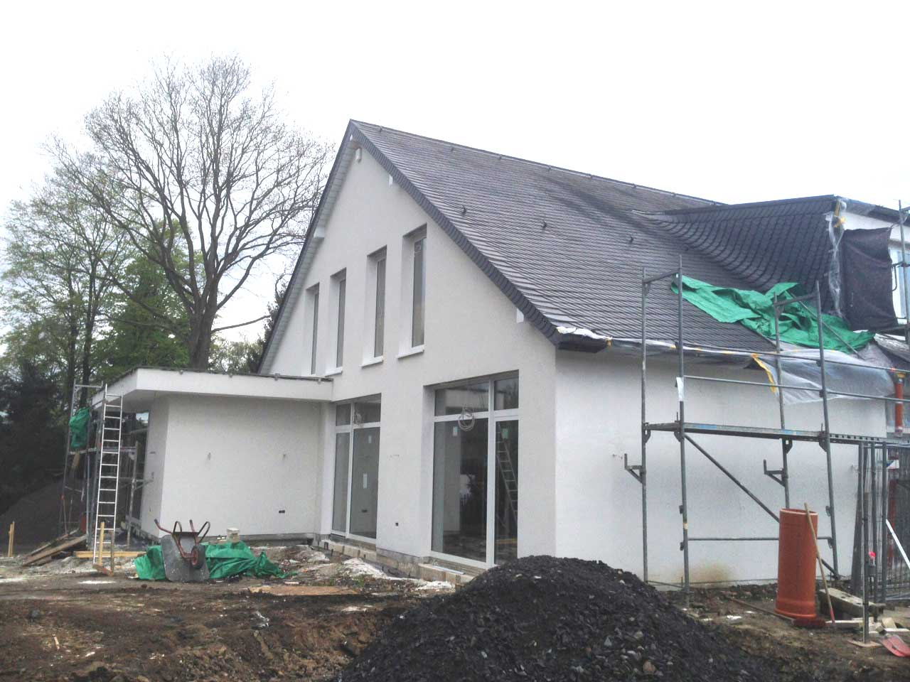 Umbau Einfamilienhaus Dortmund-Kirchhörde_Giebel