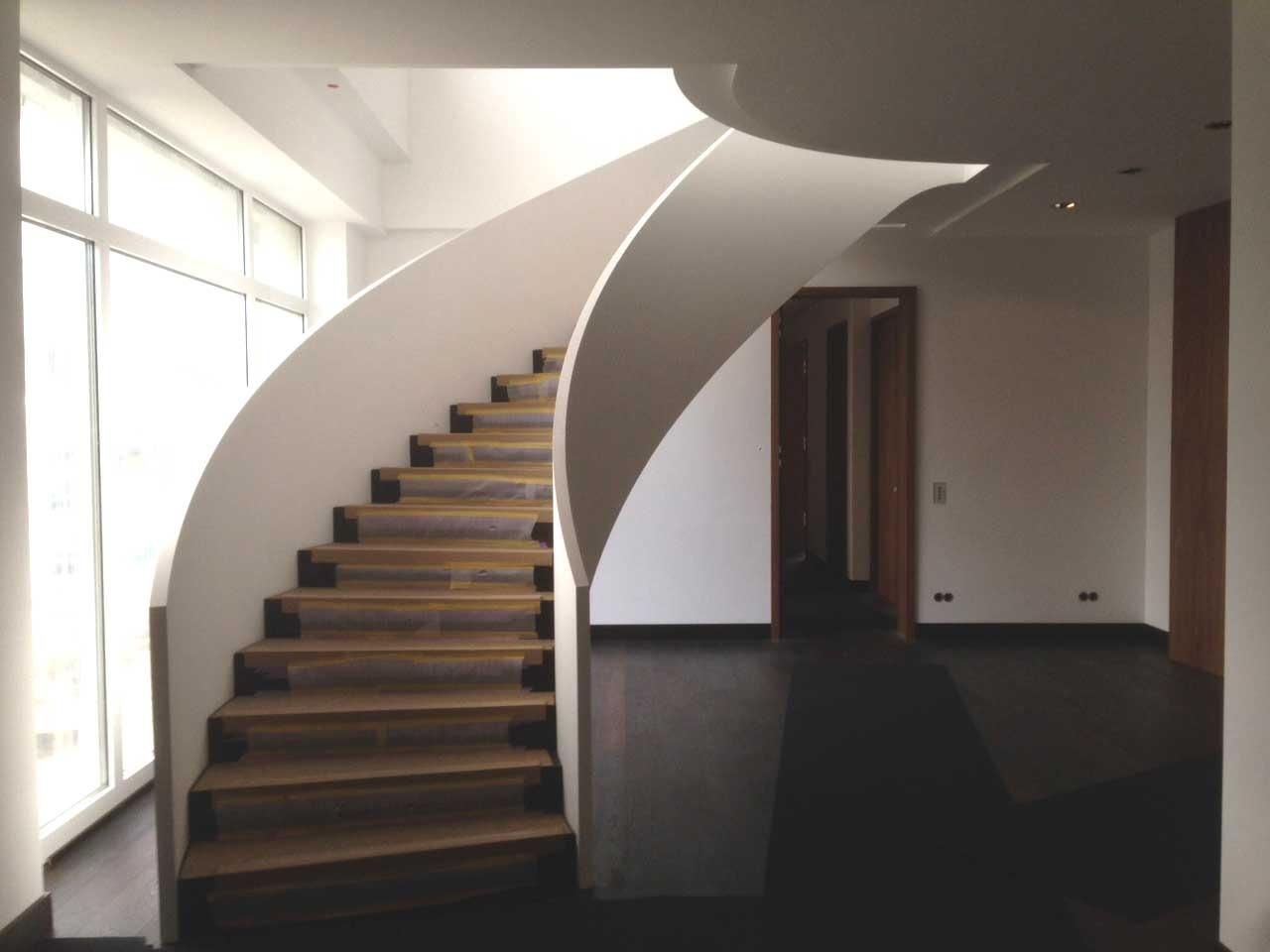 Umbau Einfamilienhaus Dortmund-Kirchhörde_Treppe