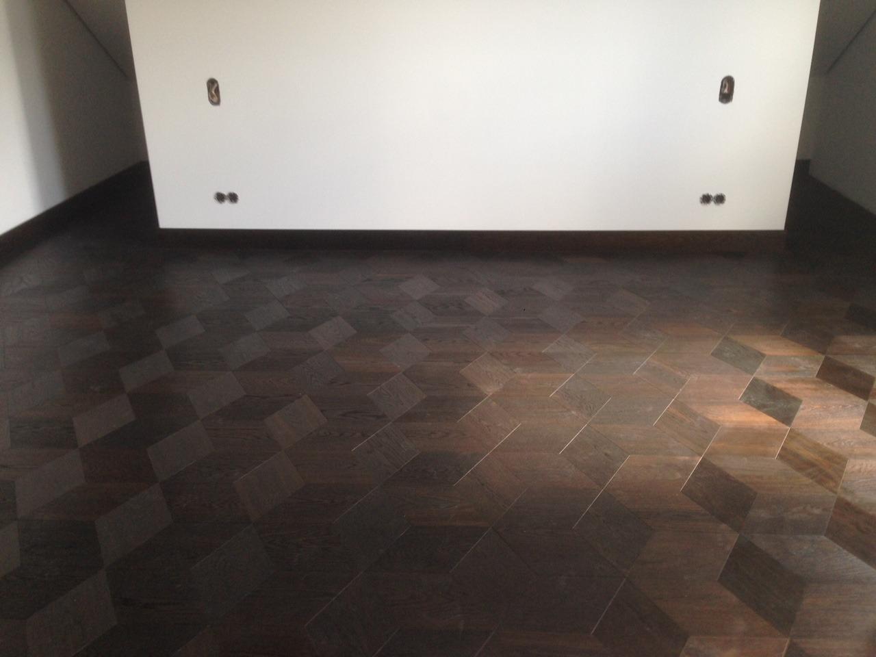 Umbau Einfamilienhaus Dortmund-Kirchhörde_Parkett_Schlafzimmer