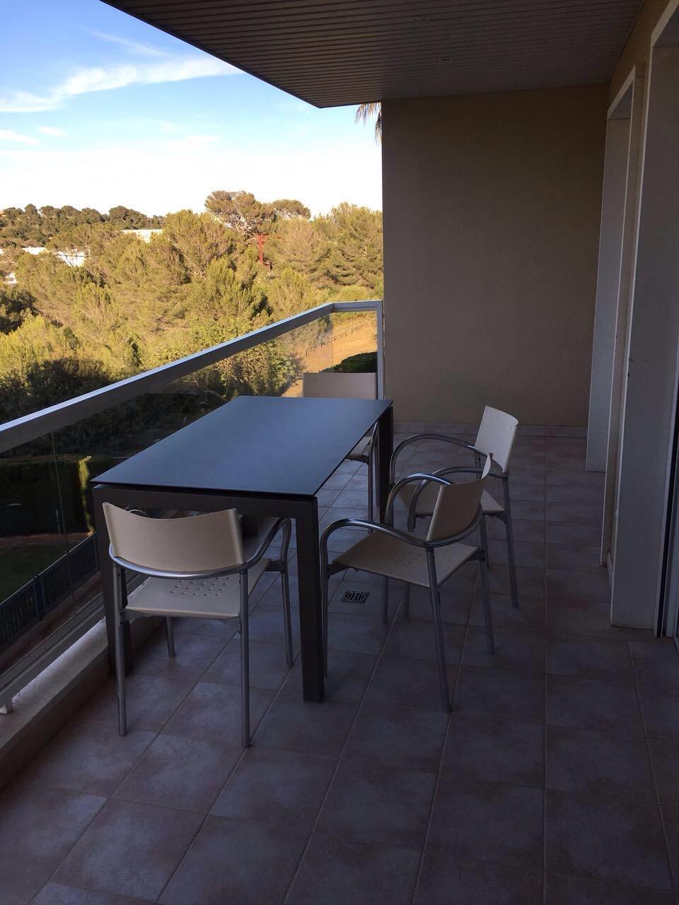 Balkonaussicht_Wohnung in Bonanova, Mallorca