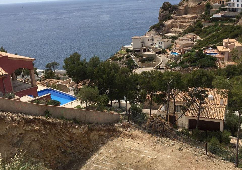 Cala Moragues – Erdarbeiten abgeschlossen