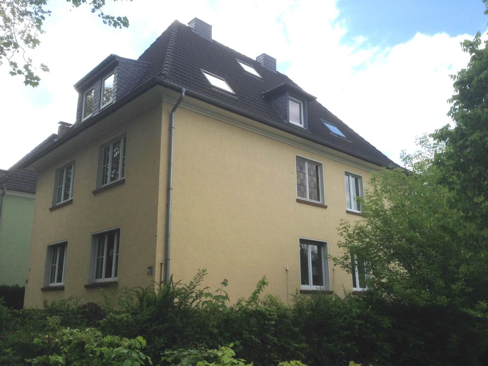 Ansicht von der Straße_Mehrfamilienhaus in Dortmund