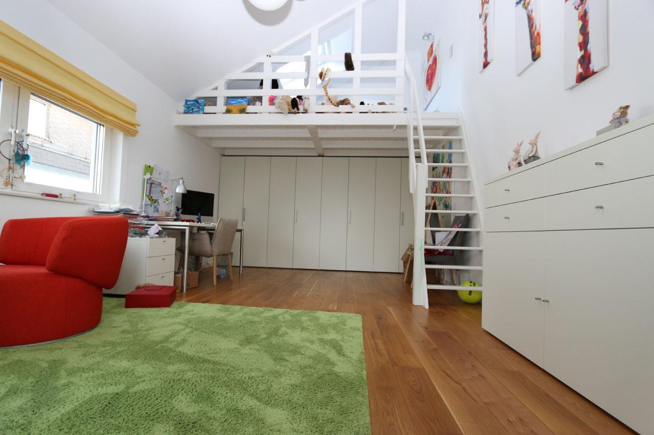Blick in das Kinderzimmer, Neubau in Dortmund-Lücklemberg