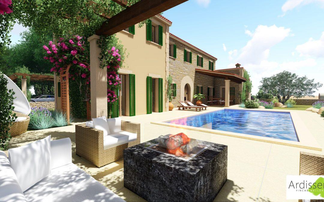 Fincas Mallorca Ardisseny, S.L. startet Geschäftstätigkeit mit wunderschönem Projekt.