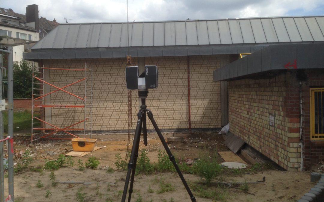 Feuerwache Herten – Abbrucharbeiten haben begonnen