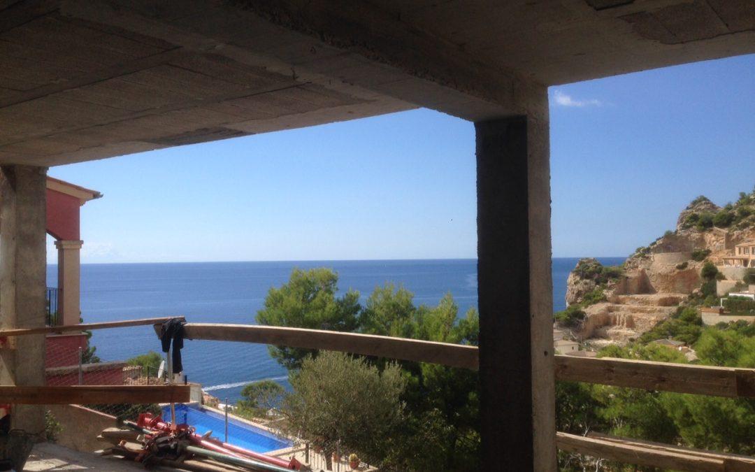 Update Baumaßnahme Cala Moragues – Rohbauarbeiten (fast) abgeschlossen