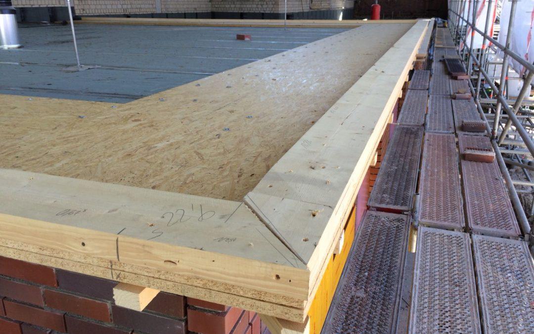 Feuerwache Herten – neue Dacheindeckung bald fertig