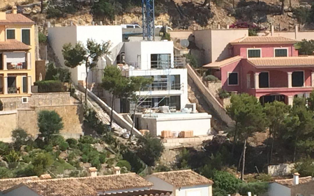 Update Baumaßnahme Cala Moragues – Bald ist Fertigstellung