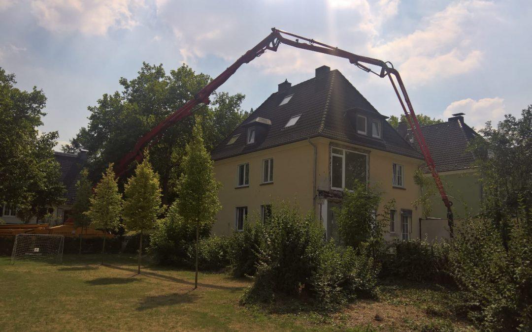 Update – Anbau an einem Wohnhaus in Dortmund