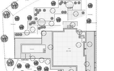 Projekt eingereicht für Neubau einer Villa in Son Vida